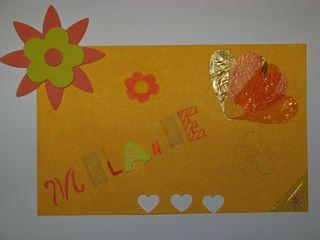Carte Mélanie